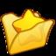 64x64 of Folder yellow favourite