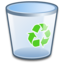 64x64 of System Recycle Bin Empty