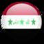 64x64 of Iraq Flag