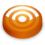 64x64 of Rss orange circle