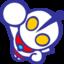 64x64 of Ultraman Blue