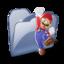 64x64 of Folder Dossier Jeux SZ