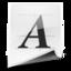 64x64 of General Font