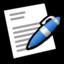 64x64 of Word Processor Word