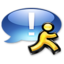 64x64 of Application iChat aqua