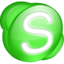 64x64 of Skype green