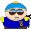 64x64 of Cartman Cop zoomed
