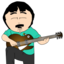 64x64 of Randy Marsh Jamming Icon 2