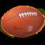 64x64 of American Football ball