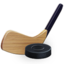 64x64 of Hockey stick and puck
