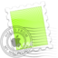 64x64 of Green Spiral