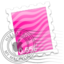 64x64 of Pink Waves