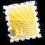 64x64 of Yellow Rays
