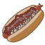 64x64 of Hot Dog (Chili Dog)