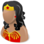 64x64 of Wonder woman