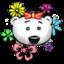 64x64 of Flower Power