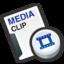 64x64 of Media cilp