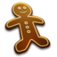 64x64 of Gingerbread Man