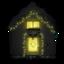 64x64 of Snowy House Dark