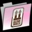 64x64 of PINK AQUA ALIVE