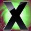 64x64 of X Circle Green