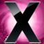 64x64 of X Circle Pink