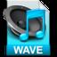64x64 of iTunes wav