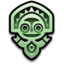 64x64 of Polynesian Mascot Jade