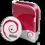 64x64 of Debian disc
