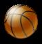64x64 of Basketball Ball