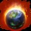 64x64 of Burning Globe