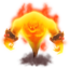 64x64 of Fire Elemental