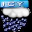 64x64 of Icy Rain