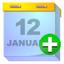64x64 of calendar add
