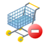 64x64 of shopping cart remove