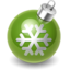 64x64 of Xmas decoration green