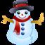64x64 of Snowman