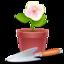64x64 of Flowerpot