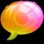 64x64 of alert0 Pink Orange