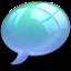 64x64 of offline online Light Blue