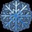 64x64 of Blue snow