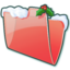 64x64 of Folder Snow