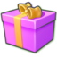 64x64 of Giftbox purple
