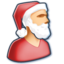 64x64 of Santa