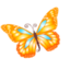64x64 of Butterfly orange