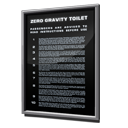 Zero Gravity Toilet Safety Instructions