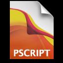 AI Postscript Icon