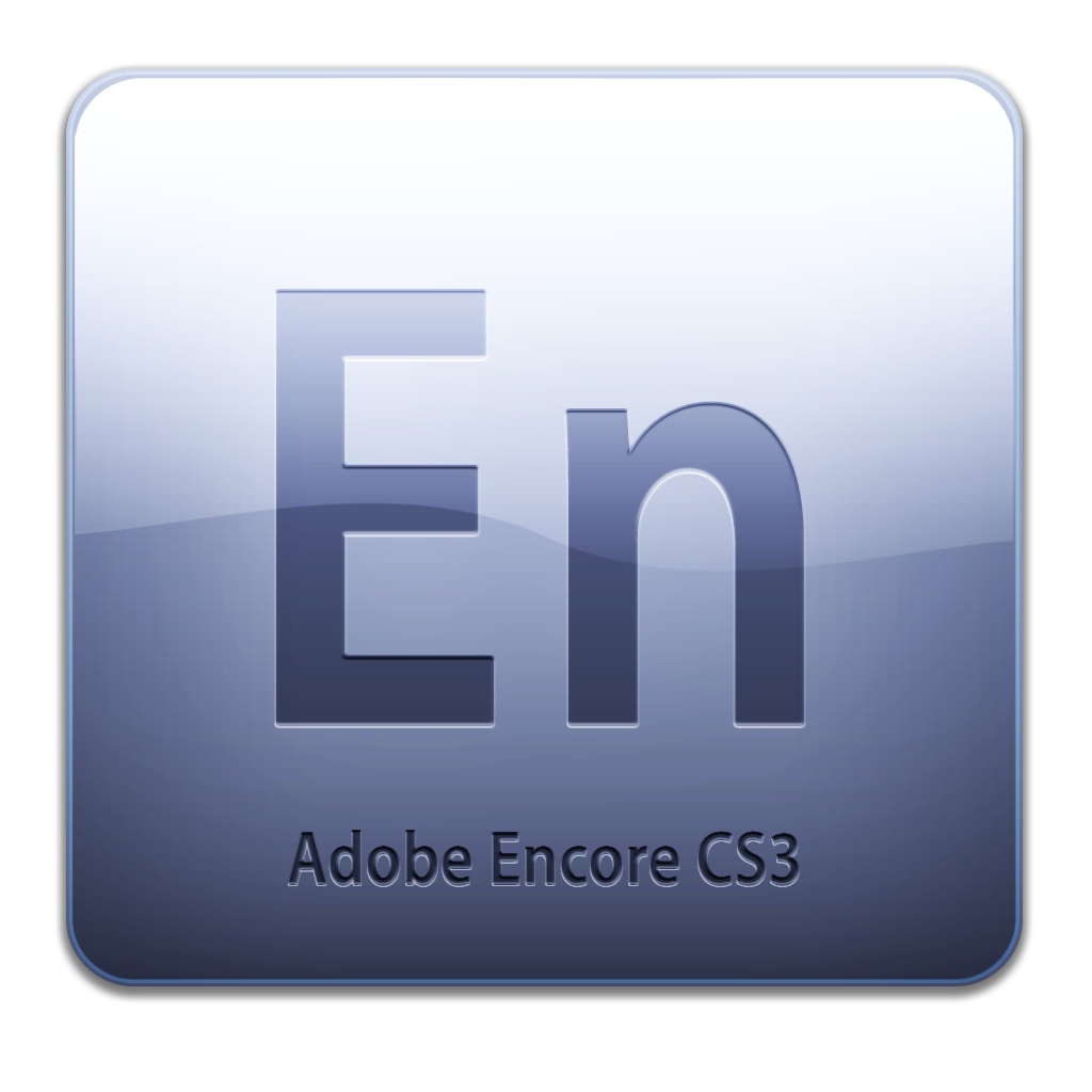 Full Size of Adobe Encore CS3 Icon (clean)
