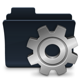 Gear Folder Badged Icon Free Search Download As Png Ico And Icns Iconseeker Com