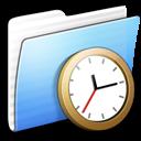 Full Size of Aqua Stripped Folder Clock